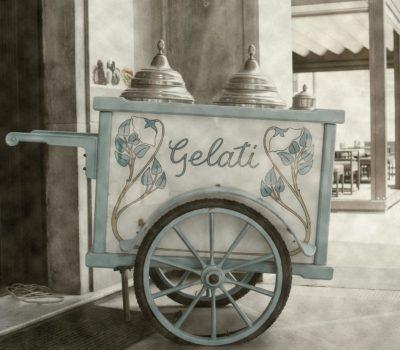 Carrettino dei gelati Chiellini