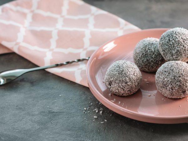 Chiellini frutta secca - ricetta palline cocco e cacao