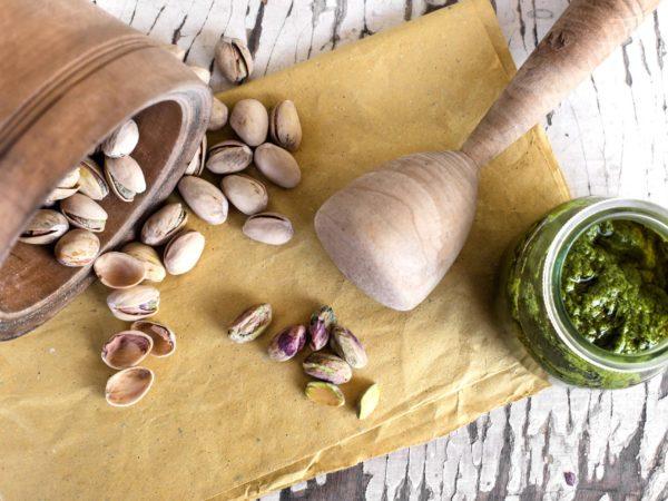 Chiellini frutta secca - ricetta pesto di pistacchi