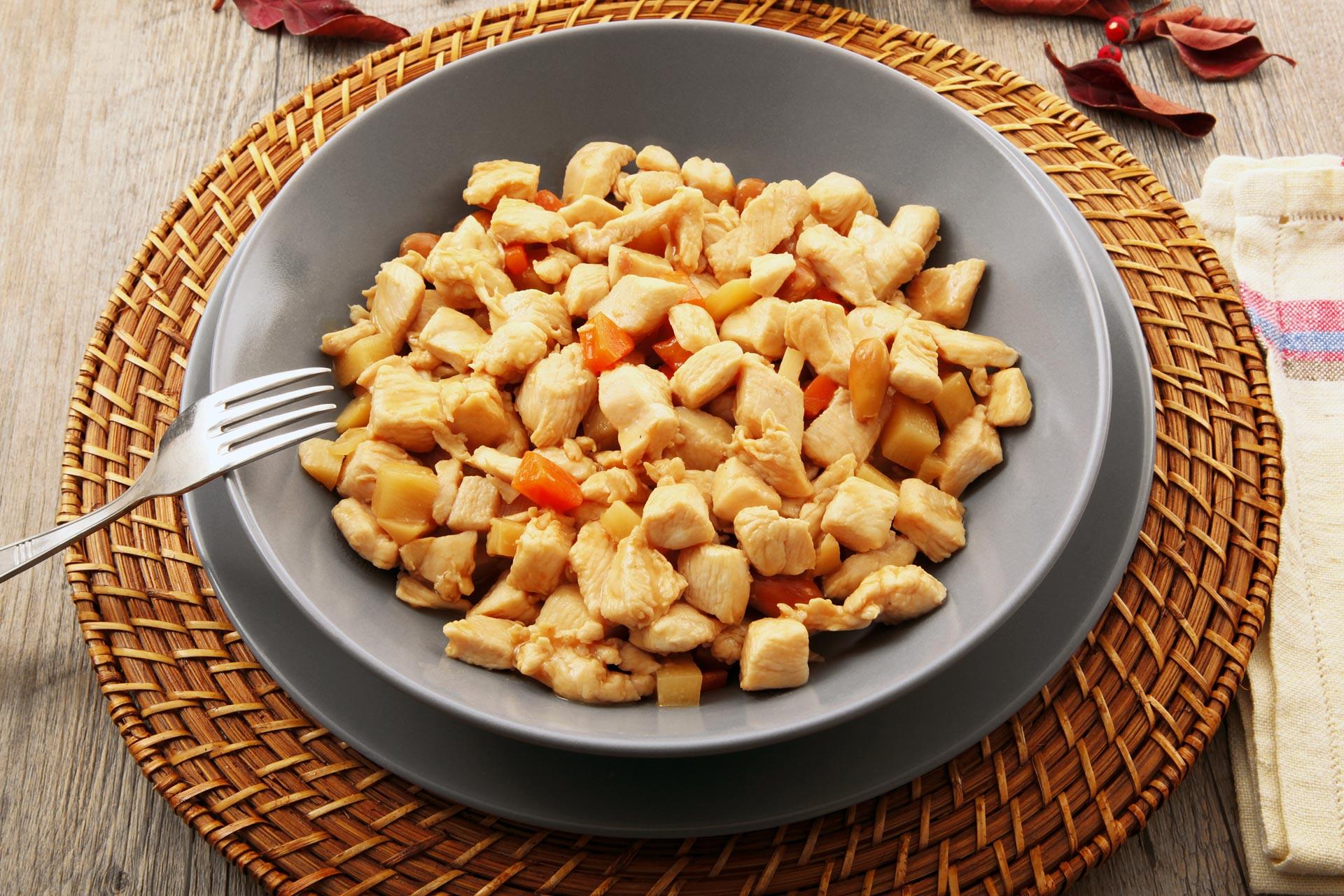 Chiellini frutta secca - ricetta pollo alle mandorle
